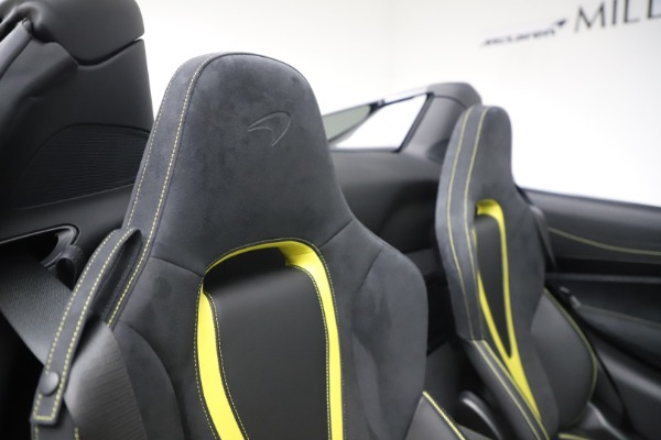 Used 2020 McLaren 720S Spider Convertible for sale Sold at Maserati of Westport in Westport CT 06880 27
