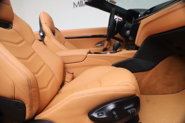 New 2019 Maserati GranTurismo Sport for sale Sold at Maserati of Westport in Westport CT 06880 27