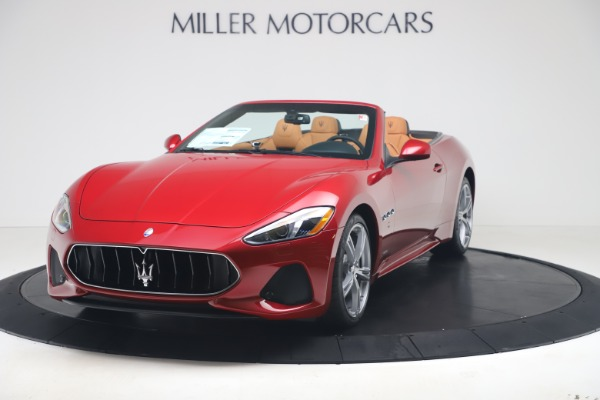 New 2019 Maserati GranTurismo Sport for sale $162,520 at Maserati of Westport in Westport CT 06880 1