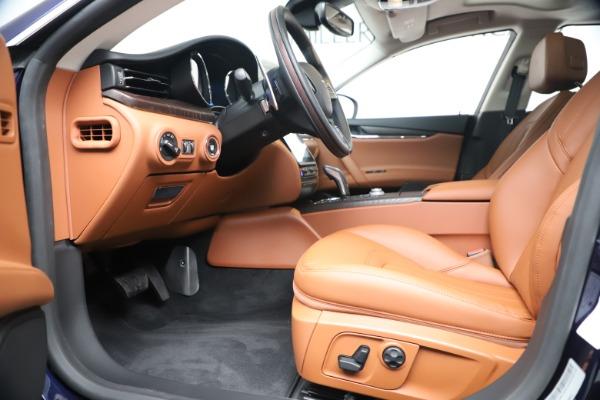 New 2019 Maserati Quattroporte S Q4 for sale $121,065 at Maserati of Westport in Westport CT 06880 14