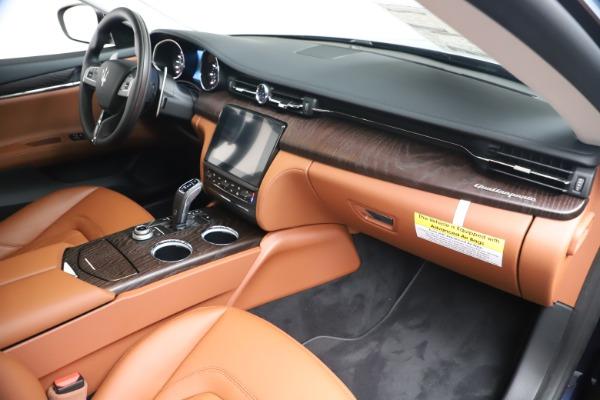 New 2019 Maserati Quattroporte S Q4 for sale $121,065 at Maserati of Westport in Westport CT 06880 22