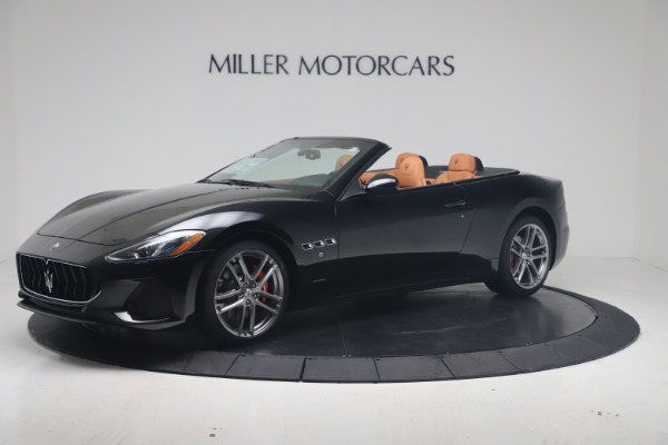 New 2019 Maserati GranTurismo Sport Convertible for sale Sold at Maserati of Westport in Westport CT 06880 2
