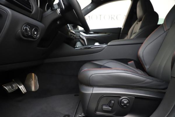 New 2019 Maserati Levante Q4 GranSport for sale Call for price at Maserati of Westport in Westport CT 06880 14