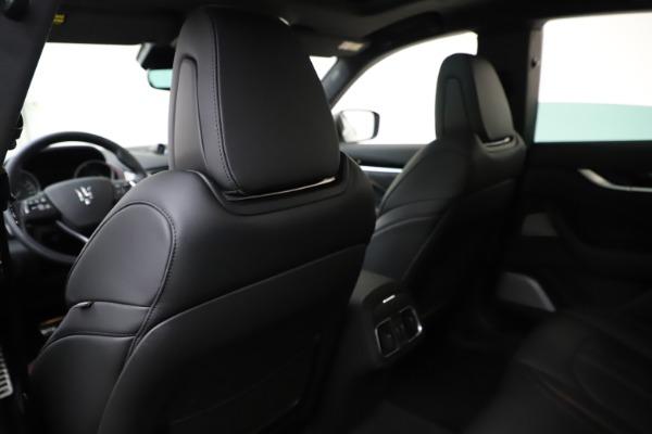 New 2019 Maserati Levante Q4 GranSport for sale Call for price at Maserati of Westport in Westport CT 06880 18