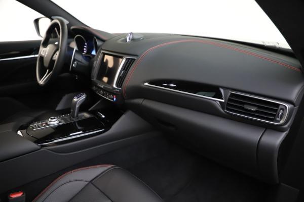 New 2019 Maserati Levante Q4 GranSport for sale Call for price at Maserati of Westport in Westport CT 06880 22