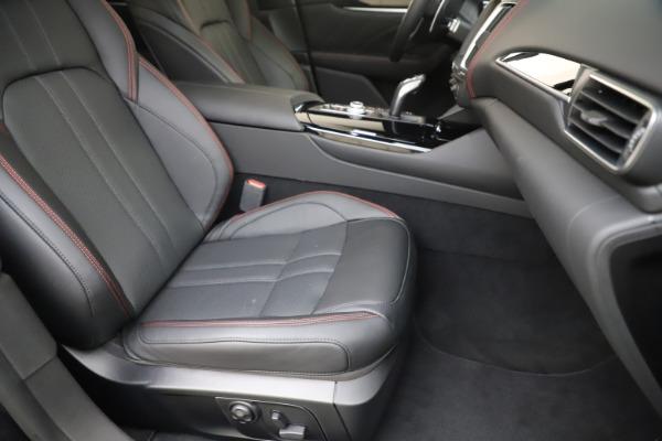 New 2019 Maserati Levante Q4 GranSport for sale Call for price at Maserati of Westport in Westport CT 06880 24
