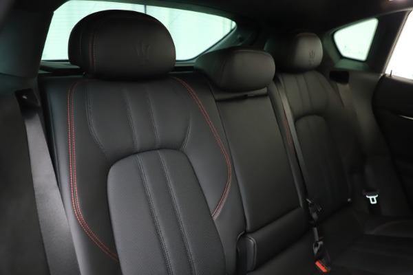 New 2019 Maserati Levante Q4 GranSport for sale Call for price at Maserati of Westport in Westport CT 06880 26