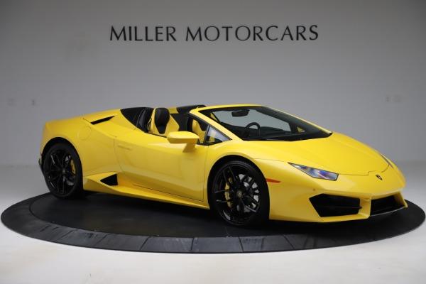 Used 2018 Lamborghini Huracan LP 580-2 Spyder for sale $203,900 at Maserati of Westport in Westport CT 06880 10