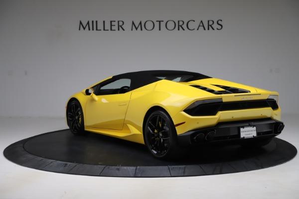 Used 2018 Lamborghini Huracan LP 580-2 Spyder for sale $203,900 at Maserati of Westport in Westport CT 06880 14