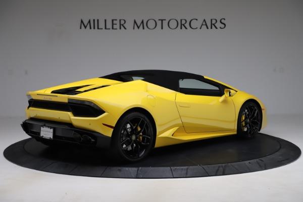 Used 2018 Lamborghini Huracan LP 580-2 Spyder for sale $203,900 at Maserati of Westport in Westport CT 06880 15