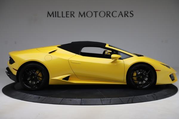Used 2018 Lamborghini Huracan LP 580-2 Spyder for sale $203,900 at Maserati of Westport in Westport CT 06880 16