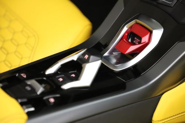 Used 2018 Lamborghini Huracan LP 580-2 Spyder for sale $203,900 at Maserati of Westport in Westport CT 06880 27