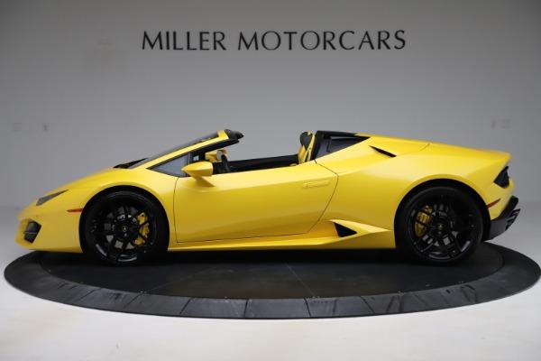 Used 2018 Lamborghini Huracan LP 580-2 Spyder for sale $203,900 at Maserati of Westport in Westport CT 06880 3