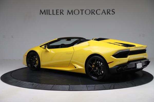 Used 2018 Lamborghini Huracan LP 580-2 Spyder for sale $203,900 at Maserati of Westport in Westport CT 06880 4