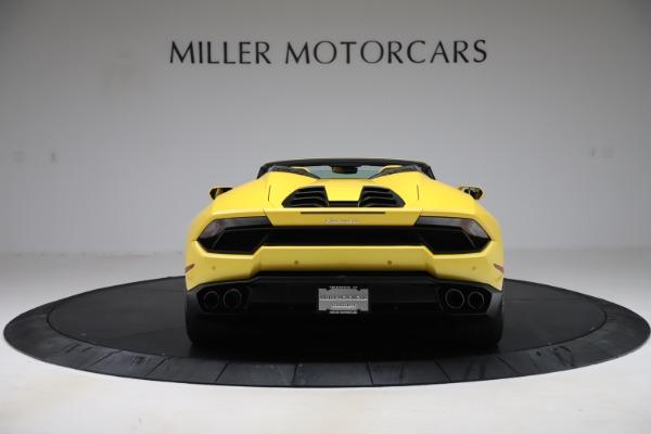 Used 2018 Lamborghini Huracan LP 580-2 Spyder for sale $203,900 at Maserati of Westport in Westport CT 06880 6