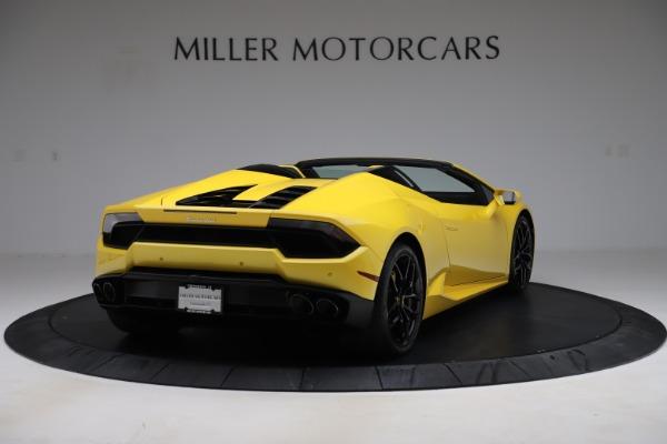 Used 2018 Lamborghini Huracan LP 580-2 Spyder for sale $203,900 at Maserati of Westport in Westport CT 06880 7