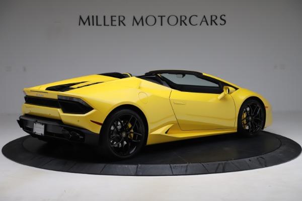 Used 2018 Lamborghini Huracan LP 580-2 Spyder for sale $203,900 at Maserati of Westport in Westport CT 06880 8
