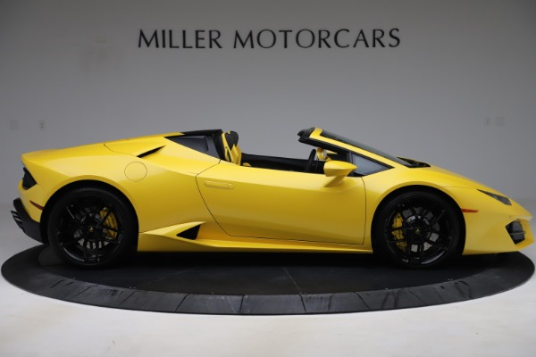 Used 2018 Lamborghini Huracan LP 580-2 Spyder for sale $203,900 at Maserati of Westport in Westport CT 06880 9