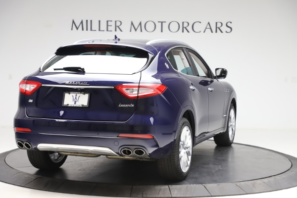 New 2019 Maserati Levante GranLusso for sale Sold at Maserati of Westport in Westport CT 06880 7