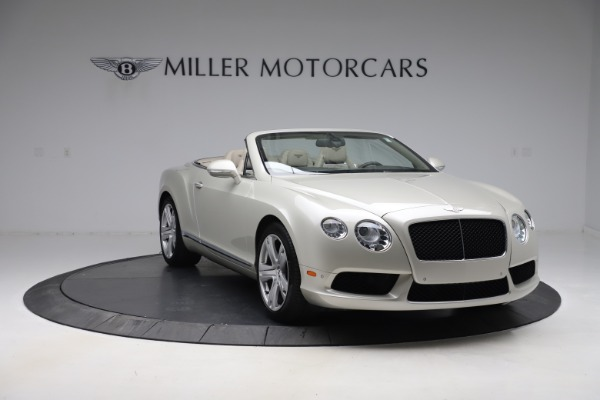 Used 2015 Bentley Continental GTC V8 for sale Sold at Maserati of Westport in Westport CT 06880 12