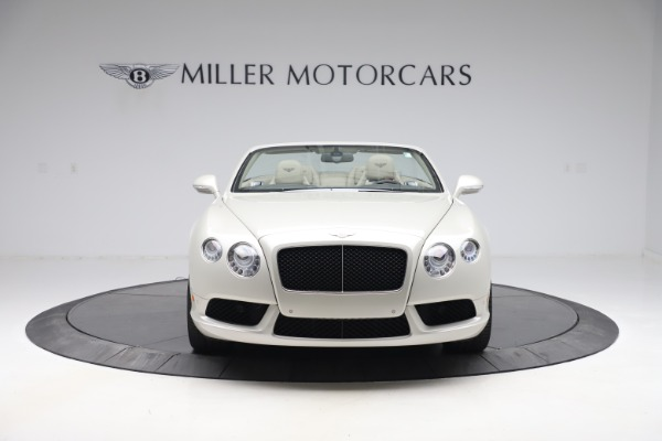 Used 2015 Bentley Continental GTC V8 for sale Sold at Maserati of Westport in Westport CT 06880 13