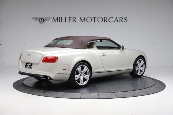 Used 2015 Bentley Continental GTC V8 for sale Sold at Maserati of Westport in Westport CT 06880 17