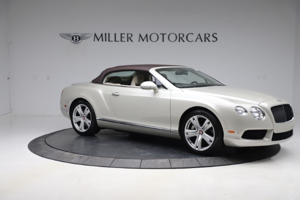 Used 2015 Bentley Continental GTC V8 for sale Sold at Maserati of Westport in Westport CT 06880 19