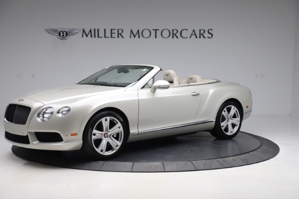 Used 2015 Bentley Continental GTC V8 for sale Sold at Maserati of Westport in Westport CT 06880 2
