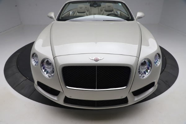 Used 2015 Bentley Continental GTC V8 for sale Sold at Maserati of Westport in Westport CT 06880 20