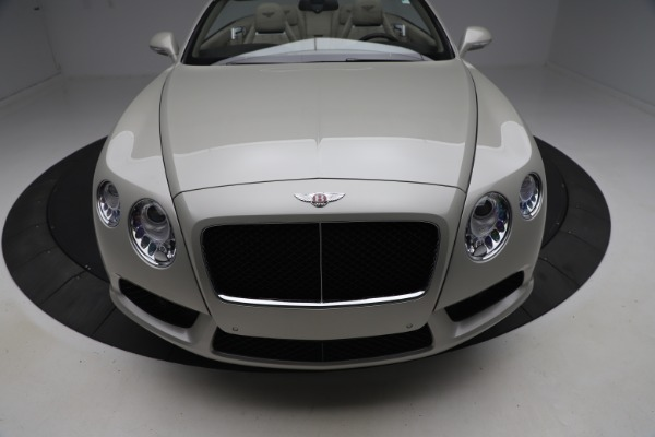 Used 2015 Bentley Continental GTC V8 for sale Sold at Maserati of Westport in Westport CT 06880 21