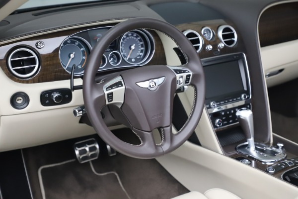 Used 2015 Bentley Continental GTC V8 for sale Sold at Maserati of Westport in Westport CT 06880 26