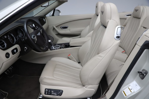 Used 2015 Bentley Continental GTC V8 for sale Sold at Maserati of Westport in Westport CT 06880 27