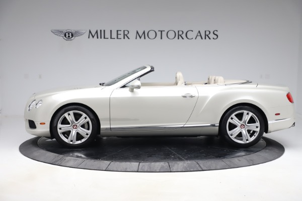 Used 2015 Bentley Continental GTC V8 for sale Sold at Maserati of Westport in Westport CT 06880 3