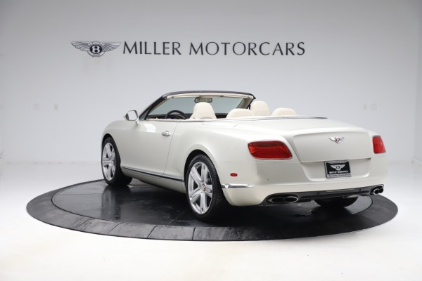 Used 2015 Bentley Continental GTC V8 for sale Sold at Maserati of Westport in Westport CT 06880 4