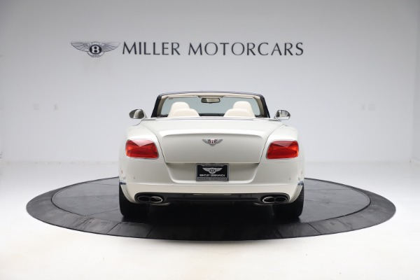 Used 2015 Bentley Continental GTC V8 for sale Sold at Maserati of Westport in Westport CT 06880 6