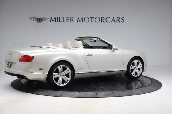 Used 2015 Bentley Continental GTC V8 for sale Sold at Maserati of Westport in Westport CT 06880 8