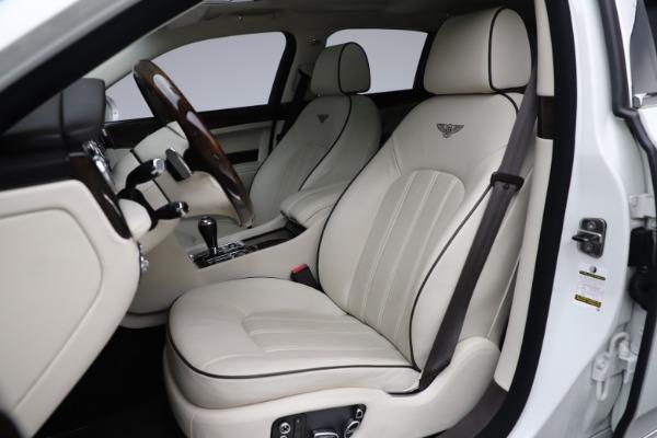 Used 2016 Bentley Mulsanne for sale $139,900 at Maserati of Westport in Westport CT 06880 19