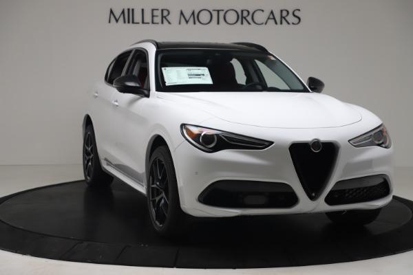 New 2020 Alfa Romeo Stelvio Sport Q4 for sale Call for price at Maserati of Westport in Westport CT 06880 11