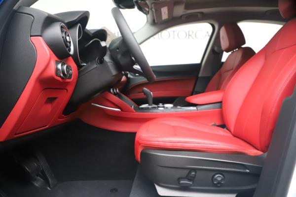 New 2020 Alfa Romeo Stelvio Sport Q4 for sale Call for price at Maserati of Westport in Westport CT 06880 14