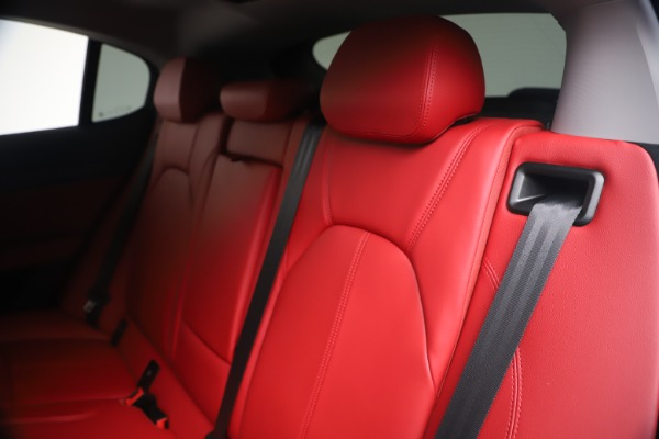 New 2020 Alfa Romeo Stelvio Sport Q4 for sale Call for price at Maserati of Westport in Westport CT 06880 18