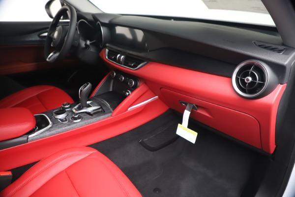 New 2020 Alfa Romeo Stelvio Sport Q4 for sale Call for price at Maserati of Westport in Westport CT 06880 22