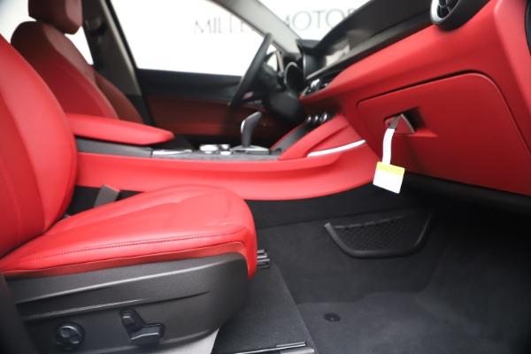 New 2020 Alfa Romeo Stelvio Sport Q4 for sale Call for price at Maserati of Westport in Westport CT 06880 23