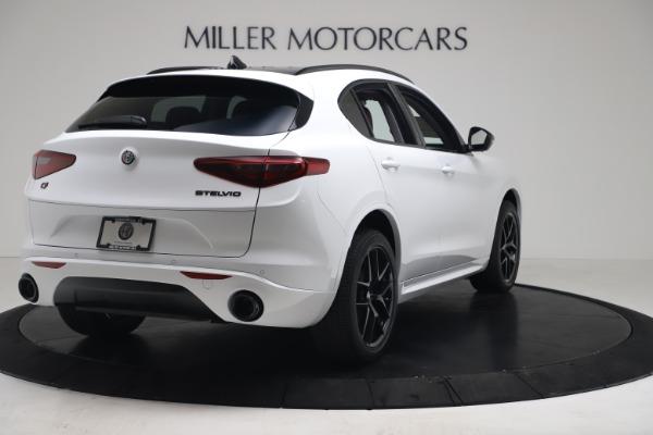 New 2020 Alfa Romeo Stelvio Sport Q4 for sale Call for price at Maserati of Westport in Westport CT 06880 7