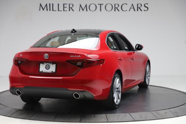 New 2020 Alfa Romeo Giulia Q4 for sale Sold at Maserati of Westport in Westport CT 06880 7