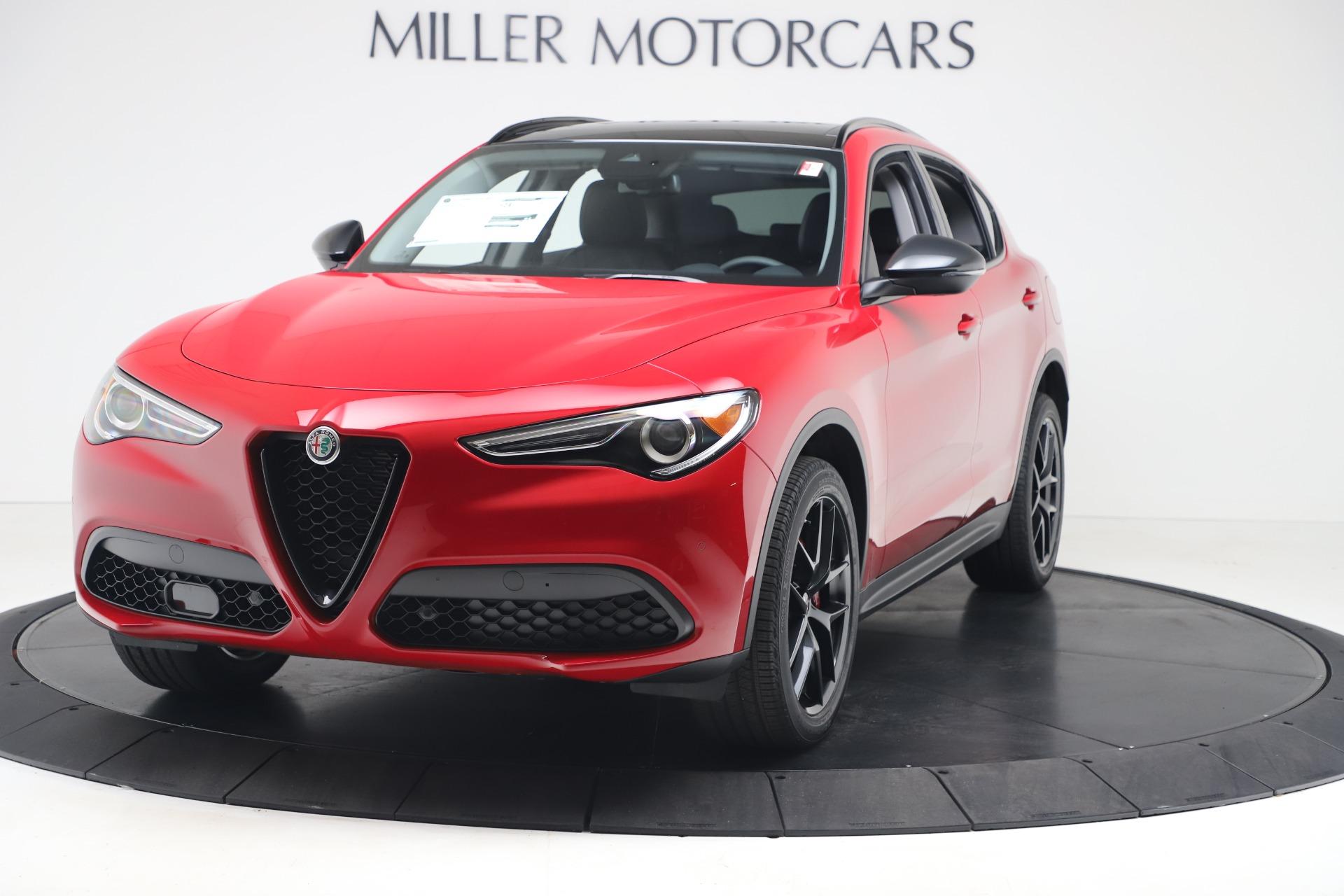 New 2020 Alfa Romeo Stelvio Q4 for sale $49,240 at Maserati of Westport in Westport CT 06880 1