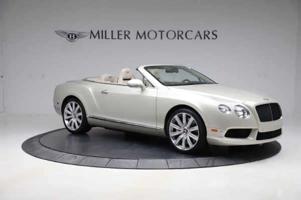 Used 2015 Bentley Continental GTC V8 for sale $109,900 at Maserati of Westport in Westport CT 06880 10