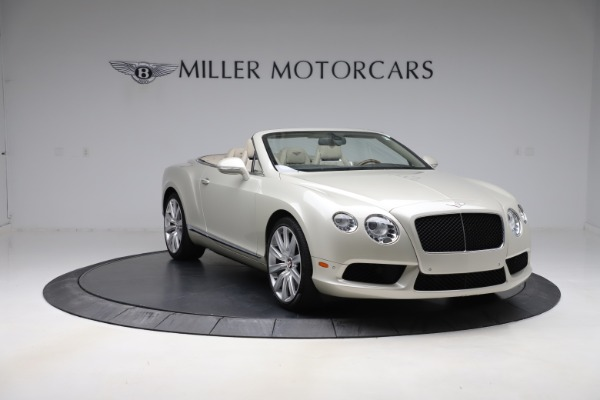Used 2015 Bentley Continental GTC V8 for sale $109,900 at Maserati of Westport in Westport CT 06880 11