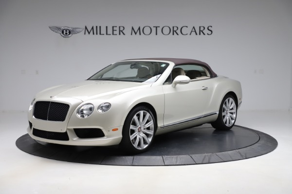 Used 2015 Bentley Continental GTC V8 for sale $109,900 at Maserati of Westport in Westport CT 06880 13