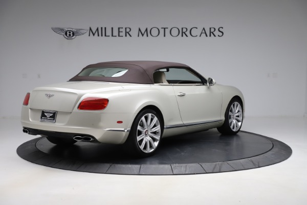 Used 2015 Bentley Continental GTC V8 for sale $109,900 at Maserati of Westport in Westport CT 06880 16