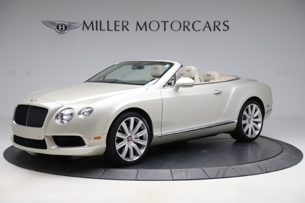 Used 2015 Bentley Continental GTC V8 for sale $109,900 at Maserati of Westport in Westport CT 06880 2